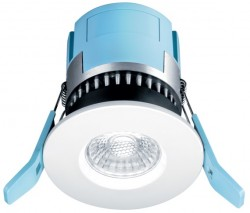 Thorn Eco FRED LED Fire-Rated IP65 Downlight, 7W, 3000K, Dimmable