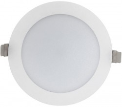 Verbatim 52268 LED Downlight, 25W, 3000K, 2250lms, 200mm hole, DIMS