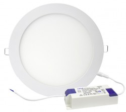 LUMiLife 18W TPb LED Slim Panel, IP20, 210mm Cut-Out, 5yrs, 4000K