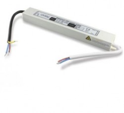 30W LED Transformer / Driver, 12V Output, IP67, (Not Dimmable)
