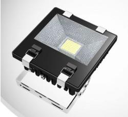 LED Floodlight, *SLIMLINE*, 70W, IP65, COLOURED BEAM