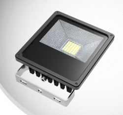 YYC LED Floodlight, *SLIMLINE*, 30W, IP65