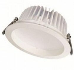 Recess LED Downlight, 18W, WHITE, IP54, Dimmable