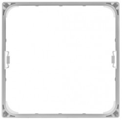 LEDVance Surface Mount Frame for 18W Square Panels, 210SQWT