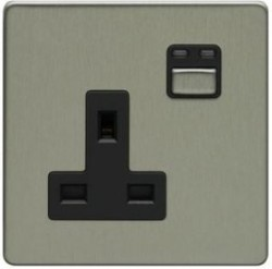 Lightwave - Remote Control 1-Gang 13A Power Socket
