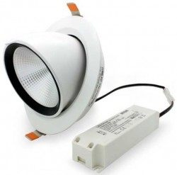 LUMiLife LED Recessed Scoop Downlight, 35W, 165-170mm hole