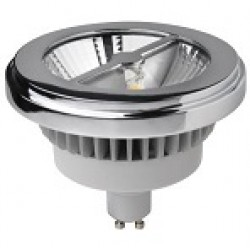 Megaman LED AR111 (GU10 Base), 15W, 2800K, 24D, Dimmable