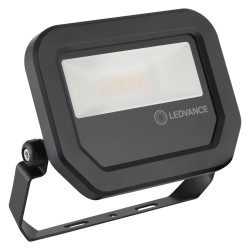 LEDVANCE Floodlight, GEN3 10W, 3000K, 1100lm, Black, IP65, 5yrs