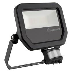 LEDVANCE Flood Light, GEN3 20W, 3000K, 2200lm, BLACK, PIR SENSOR