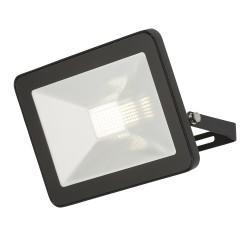 MLA 230V IP65 30W LED Black Die-Cast FLF30 Floodlight 4000K, 3100lm
