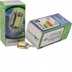 G4 LED Capsule, 1.5W, Not Dimmable, Cool White