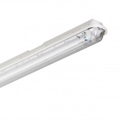 Philips Pacific, IP66, with MasterLED Tube, 1 x 25W (5ft)