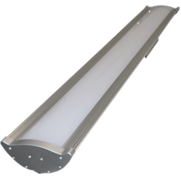 Led High Bay With Emergency: MEGE LED *NEW GEN2* Linear High Bay Fitting, 80W, 10400LM