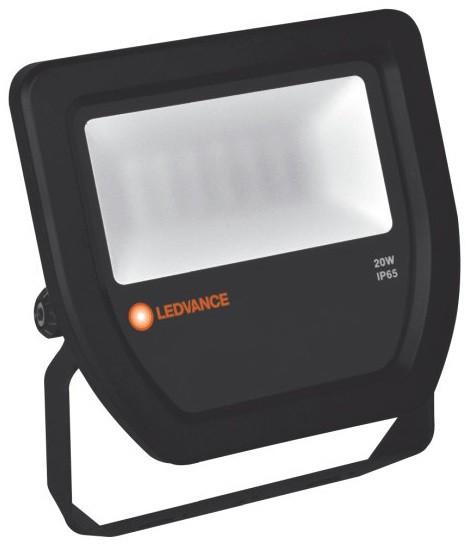 new product 0ec9c 9c764 Osram LEDVANCE Floodlight, NEW 20W, 3000K, 2100lm, Black, IP65