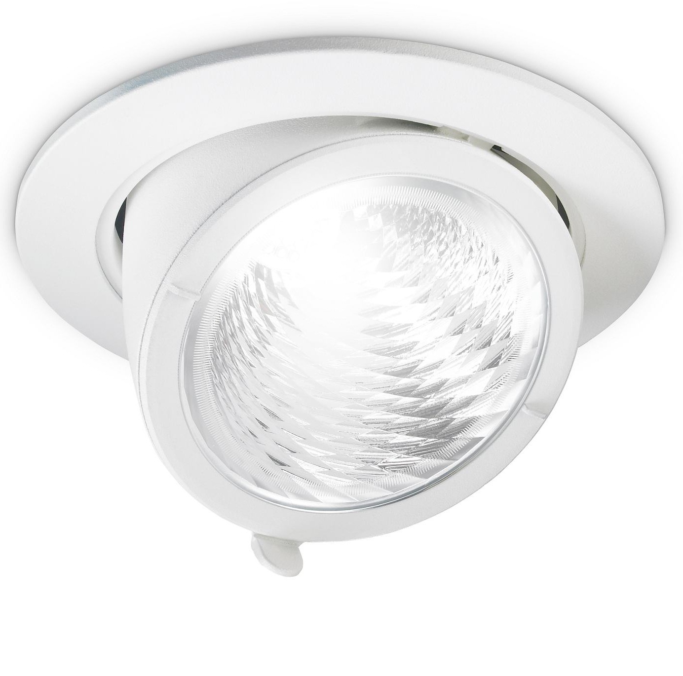 Philips LuxSpace Accent LED Recessed Downight ADJ ELBOW 3200LM