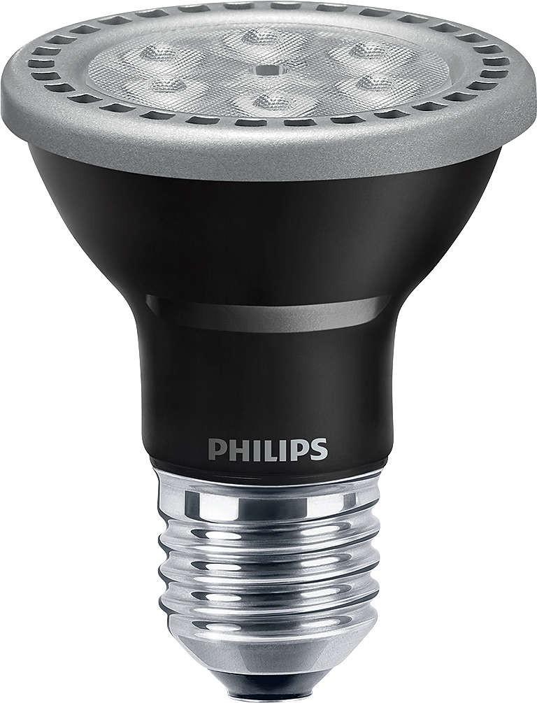 philips master led par20 spot 5 5w 4000k 25d dimmable. Black Bedroom Furniture Sets. Home Design Ideas