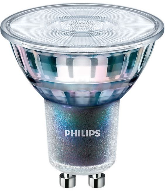 philips master led gu10 expertcolor cri97 5 5w 2700k 25d dimmable. Black Bedroom Furniture Sets. Home Design Ideas