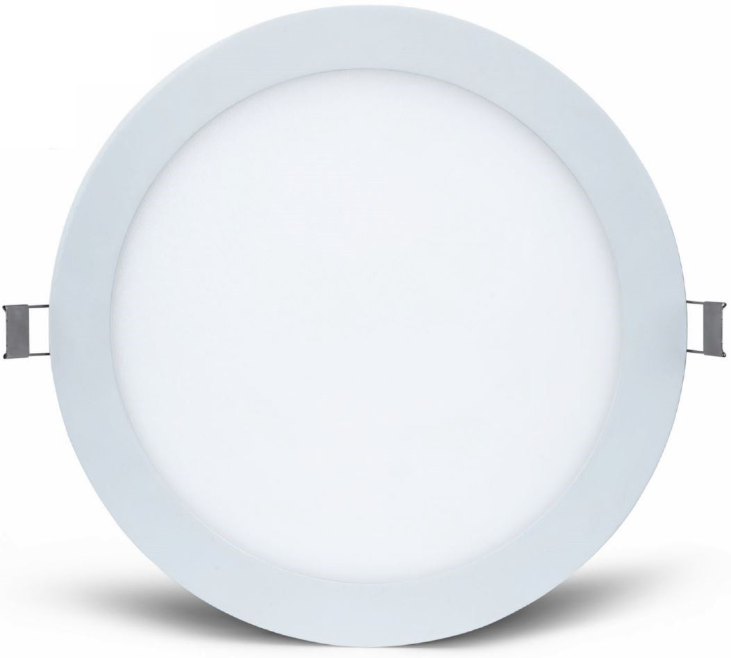 Mege Led Round Panel Recess 16w 220mm Cut Out Ip44 5yrs