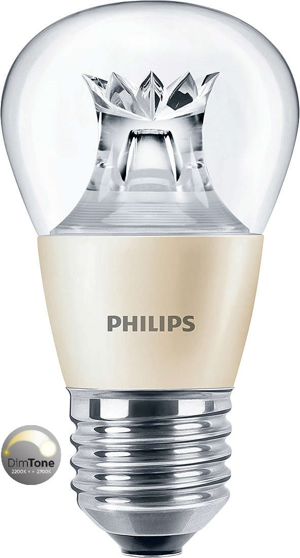 Philips Master Led Luster 6w 40w E27 Clear Dimtone