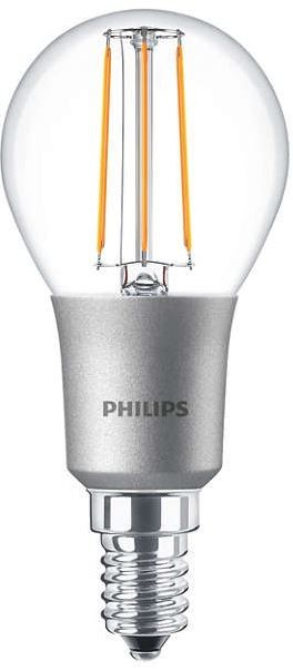 philips led classic filament luster 4 5w 40w 2700k e14 dimmable. Black Bedroom Furniture Sets. Home Design Ideas