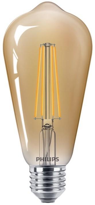 Philips Led Classic St64 Filament 8w 2200k Gold E27