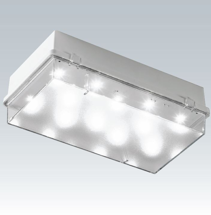 Cooper Zetalite 3 Led Emergency Bulkhead 3w Ip65