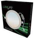 LUMiLife 12W LED Slim Round Panel, 155mm hole, CCT-Switchable