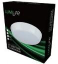 LumiLife 15W LED Bulkhead, 325mm dia, IP65, CCT-Switchable