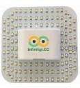 Infinity LED 12W=28W 2D 4-Pin Lamp Retrofit Disk