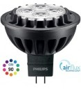 Philips Master LED MR16, AIRFLUX, 7W NEW CRI90, 3000K, 15D, Dimmable