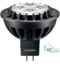 Philips Master LED MR16, AIRFLUX, 7W=35W, 3000K, 60D, Dimmable